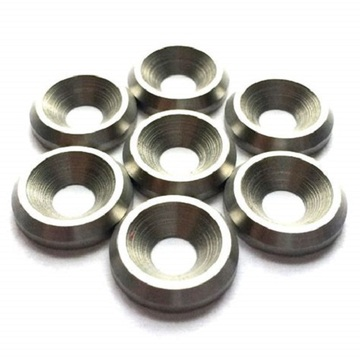 Custom Color Anodized M3 Aluminum Countersunk Washer