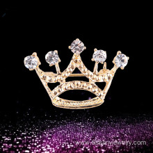 New design crown brooch pins