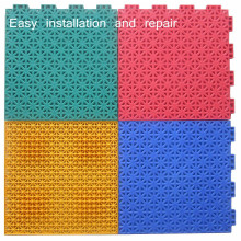 Quick to install badminton court flooring mat