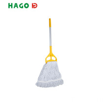 Cotton Wet Mop Plastic Clip Floor Cleaning Mop