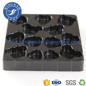 Chocolate Tray With Different Shapes Blister Packaging