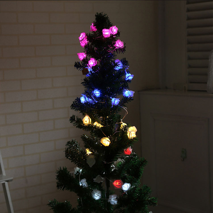 decorative led flower lights