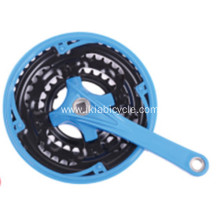 Chainwheel and Crank Steel with Plastic Cover