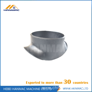 Mild steel sweepolet pipe fitting