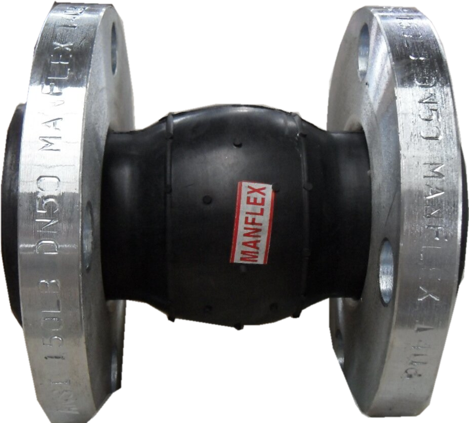 Single Sphere EPDM expansion rubber joint