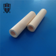 high temperature alumina zirconia ceramic tube pipe