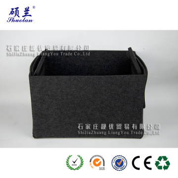 Wholesale new design felt storage bag basket