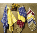 White Plain Weave Kitchen Tea Towels