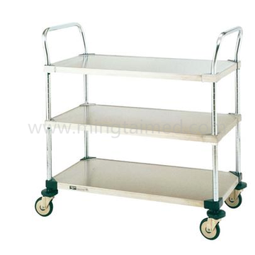 Medical item transfer cart