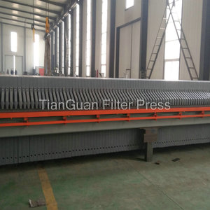Mechanical Sewage Chamber Plate Filter Press