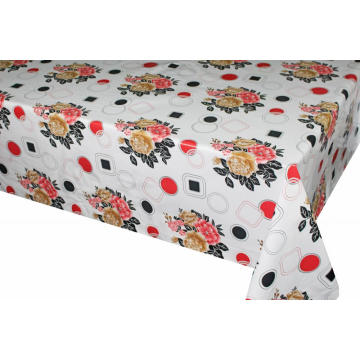 Pvc Printed fitted table covers Foot Table Runner