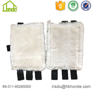 Customized Fur Sheepskin Horse Tendon Boots