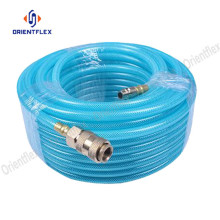Reliable for PU Braided Tube Flexible Braided Reinforced Polyurethane PU Hose / Tubing export to India Factory