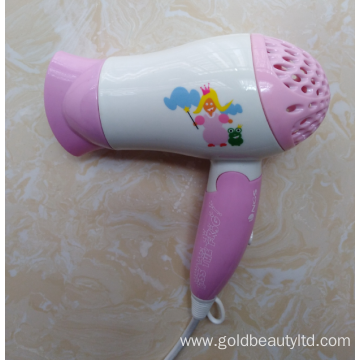 Special Designed Cartoon Painting 1200W Children Hairdryer