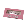 Custom Printed Artpaper Pink Eyelash Box
