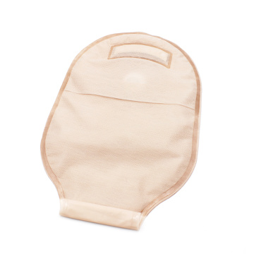 Two-piece Ostomy Waste Drainable Bag with Clamp Closure
