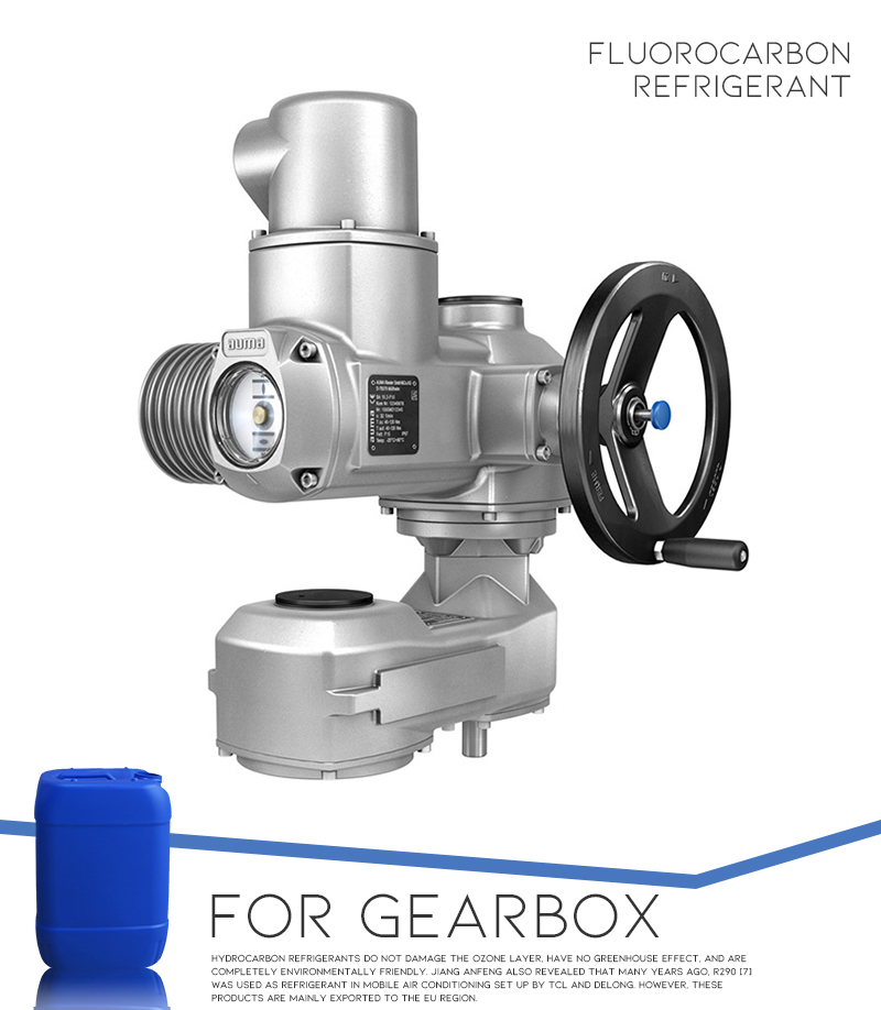 Perfluorinated Liquid for Gearbox