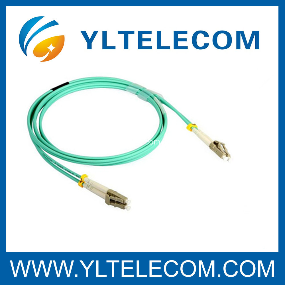 OS1 Multimode Fiber Optic Patch Cord OM2 And OM1 50 / 125 OM3