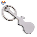 Wedding favour blank guitar bottle opener keychain