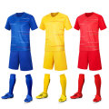Yellow color soccer jersey for training