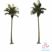 Fire Resistant Artificial palm tree