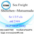 Shenzhen Port Sea Freight Shipping To Mutsamudu