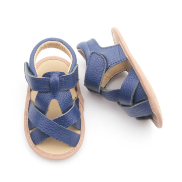 Custom Bulk Baby Shoes Genuine Leather Sandals