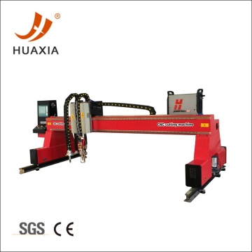 Gantry metal cnc plasma cutting machine for sale