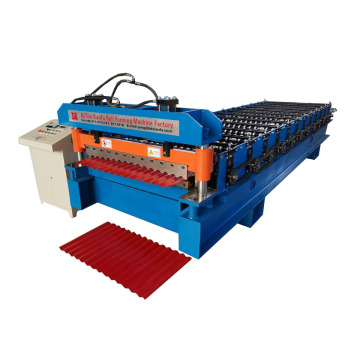 Xianfa Corrugated Metal Sheet Single Layer Forming Machine