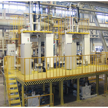 Fully computerised Low pressure casting machine