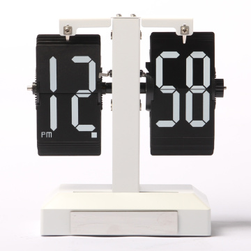 White Light Flip Clock