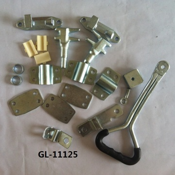 Best Quality for Cargo Trailer Door Lock Hot Galvanized Container Locking Gear supply to Argentina Suppliers