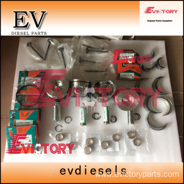 excavator V2607-T engine gasket bearing piston ring liner
