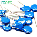 High quality blue Ceramic Capacitor 100 PF