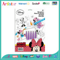 DISNEY MINNIE MOUSE colouring set