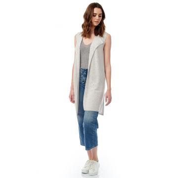 The Sleeveless Brushed Vest