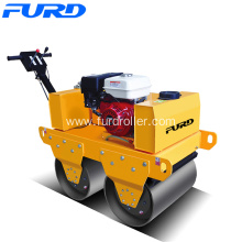 Good Quality for Walk Behind Roller Factory Supply Gasoline Double Drum Rollers export to Luxembourg Factories