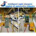 Intelligent rapid charger for industrial automation