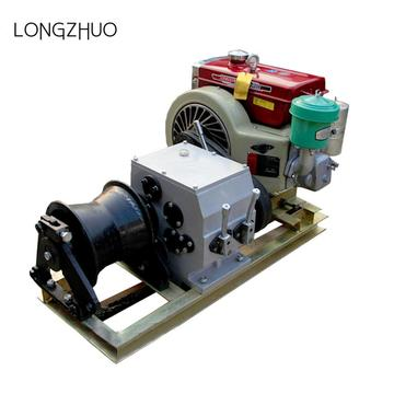 Industrial Fast Petrol Engine Winches