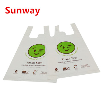 Custom Compostable Shopping Bags