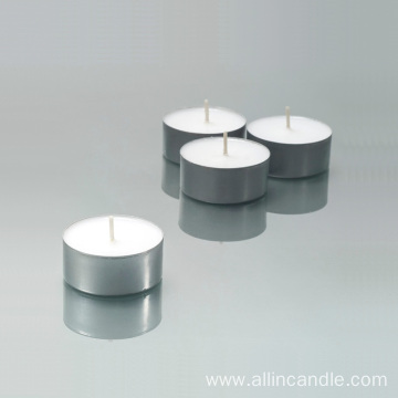 scented wax candle aluminum tealight cups