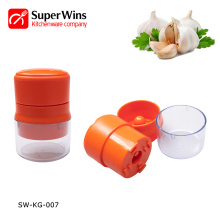 Multifunction Mincer With Storage Container Garlic Press