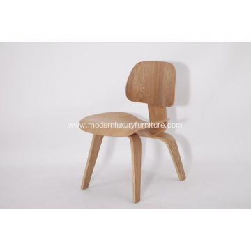 Hot sale good quality for Natural Wood Zig Zag Chair Eames molde plywood dining chair export to Poland Manufacturer