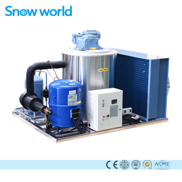 Snow world Flake Ice Maker Machine Commercial