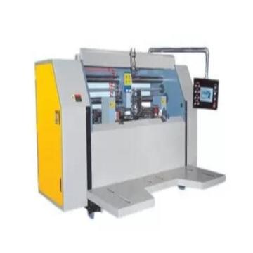 semi-automatic high-speed single piece stitcher box machine
