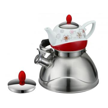 Elegant Double Tea Pot
