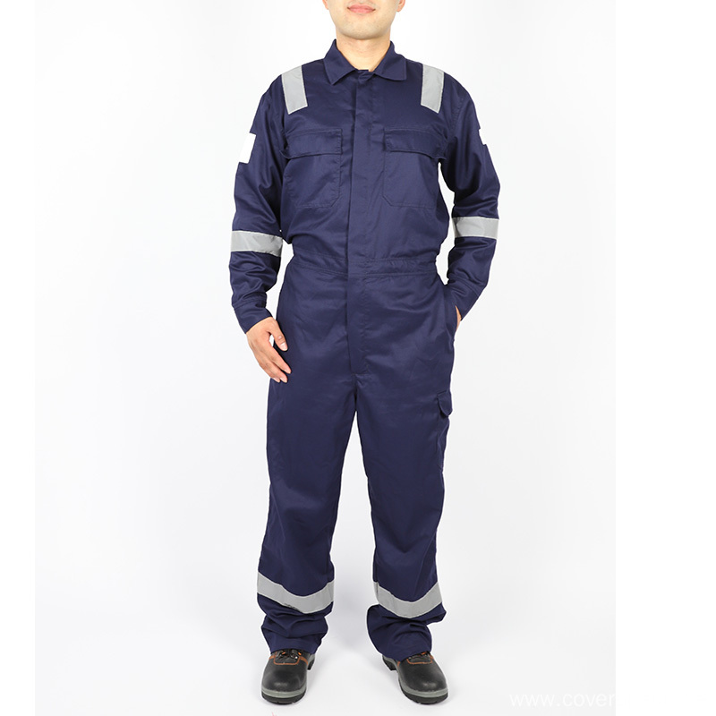 Oil Field Industrial Welding Cotton Fr Working Coverall