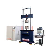 Computer display static dynamic fatigue testing machine