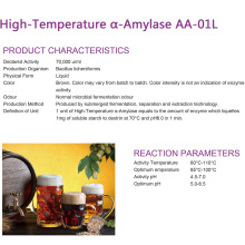 Personlized Products for Enzymes Used For Brewing High-Temperature α-Amylase for brew industry supply to Congo, The Democratic Republic Of The Exporter