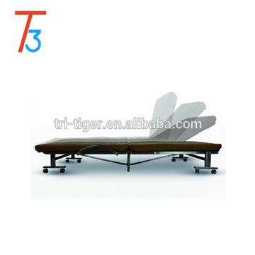 Comfortable foam folding sofa bed with human design